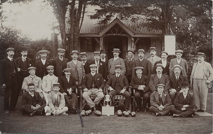 Wimbledon Park Bowls Club in 1909 - back when it all began.