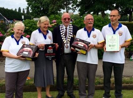 bowls england award